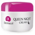 Dermacol Dry Skin Program Queen Night Cream noční zpevňující péče pro suchou až velmi suchou pleť