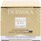 Dermika Gold 24k Total Benefit Luxus bőrfiatalító krém 45+