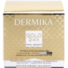 Dermika Gold 24k Total Benefit crema de lujo rejuvenecedora 55+