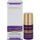 Dermika Renovelle 45+ creme de olhos revitalizante antirrugas e anti-olheiras