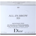 Dior All-In-Brow 3D set pentru sprancene perfecte