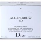 Dior All-In-Brow 3D Set voor Perfecte Wenkbrauwen
