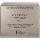 Dior Capture Totale Crema de noapte intensiva pentru revitalizarea pielii rezervă