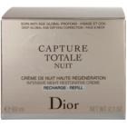 Dior Capture Totale intenzivna nočna krema za revitalizacijo kože nadomestno polnilo