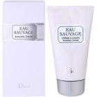 Dior Eau Sauvage krema za britje za moške 150 ml