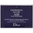 Dior Diorskin Nude Air Tan Powder bronzosító púder ecsettel