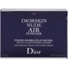 Dior Diorskin Nude Air Powder kompaktni puder s čopičem