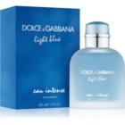 Dolce & Gabbana Light Blue Eau Intense Pour Homme Eau de Parfum για άνδρες 100 μλ