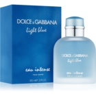 Dolce & Gabbana Light Blue Eau Intense Pour Homme eau de parfum pour homme 100 ml