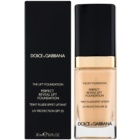 Dolce & Gabbana The Foundation The Lift Foundation maquillaje con efecto lifting SPF 25