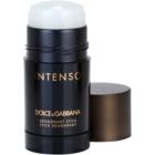 Dolce & Gabbana Pour Homme Intenso Deodorant Stick voor Mannen 75 ml