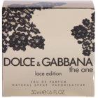Dolce & Gabbana The One Lace Edition Eau de Parfum für Damen 50 ml