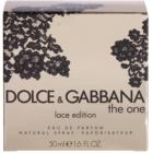 Dolce & Gabbana The One Lace Edition parfémovaná voda pro ženy 50 ml