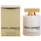 Dolce & Gabbana The One leite corporal para mulheres 200 ml (golden satin)