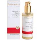 Dr. Hauschka Body Care hidratáló testápoló tej citrommal és citromfűvel