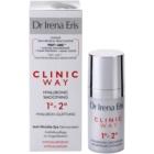 Dr Irena Eris Clinic Way 1°+ 2° verfeinernde Crem gegen Falten im Augenbereich