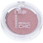 E style Metallic Chic тіні для повік з ефектом  металік