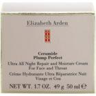Elizabeth Arden Ceramide Plump Perfect Ultra All Night Repair and Moisture Cream crema de noche reparadora