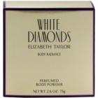 Elizabeth Taylor White Diamonds borotalco per donna 75 g