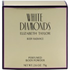 Elizabeth Taylor White Diamonds tělový pudr pro ženy 75 g
