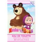 EP Line Masha and The Bear Eau de Toilette für Kinder 30 ml
