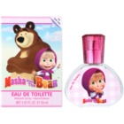 EP Line Masha and The Bear Eau de Toillete για παιδιά 30 μλ