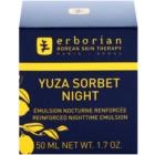 Erborian Yuza Sorbet lehká noční emulze pro zpevnění pleti