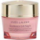 Estée Lauder Resilience Lift crema de noche antiarrugas con efecto lifting  para todo tipo de pieles