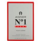 Etienne Aigner No. 1 Sport Eau de Toilette für Herren 100 ml