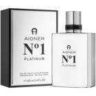 Etienne Aigner No.1 Platinum Eau de Toilette für Herren 100 ml