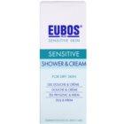 Eubos Sensitive gel-crema de dus cu apa termala