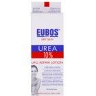 Eubos Dry Skin Urea 10% leite corporal nutritivo  para pele seca e com purido