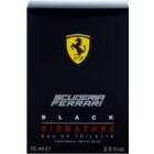 Ferrari Scuderia Ferrari Black Signature Eau de Toilette voor Mannen 75 ml