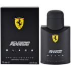 Ferrari Scuderia Ferrari Black toaletná voda pre mužov 75 ml