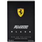 Ferrari Scuderia Ferrari Black eau de toilette férfiaknak 75 ml