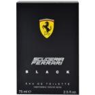 Ferrari Scuderia Ferrari Black toaletna voda za moške 75 ml