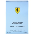 Ferrari Scuderia Light Essence toaletna voda za moške 125 ml