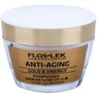 FlosLek Laboratorium Anti-Aging Gold & Energy poživitvena dnevna krema SPF 15