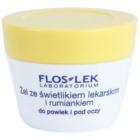 FlosLek Laboratorium Eye Care gel contour des yeux à l'euphraise et camomille