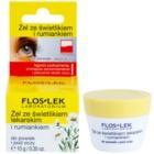 FlosLek Laboratorium Eye Care gél na očné okolie s očiankou a harmančekom