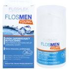 FlosLek Laboratorium FlosMen Young Creme gegen ein glänzendes Gesicht und erweiterte Poren