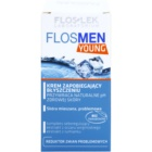 FlosLek Laboratorium FlosMen Young crème anti-brillance et pores dilatés
