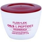 FlosLek Laboratorium Oils & Peptides Regeneration 60+ crema intensiva con efecto lifting SPF 10