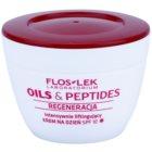 FlosLek Laboratorium Oils & Peptides Regeneration 60+ crème intense effet lifting SPF 10
