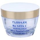 FlosLek Laboratorium Re Vita C 40+ intensive Nachtcreme zur Revitalisierung der Haut