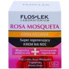 FlosLek Laboratorium Rosa Mosqueta Rejuvenation 50+ intensive Nachtcreme für die Regeneration der Haut