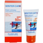 FlosLek Laboratorium Winter Care schützende Creme fúr den Winter SPF 50+