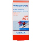 FlosLek Laboratorium Winter Care schützende Creme fúr den Winter SPF50+