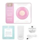 FOREO UFO™ Mini sonický přístroj pro urychlení účinků pleťové masky cestovní balení