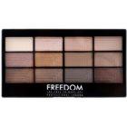 Freedom Pro 12 Audacious 3 paleta očních stínů s aplikátorem